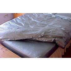 "KLEMARO PVC Plastik - Bettbezug ""doppel"" groß 140x200cm H61 QUEEN MATTRESS"