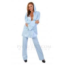 KLEMARO PVC Plastik - Regenanzug Pyjama Schlafanzug Schutzanzug zweiteilig unisex NW08 BEDJAMS