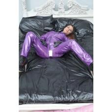 KLEMARO PVC Plastik - 2x Kissenbezug Universalgröße BE03