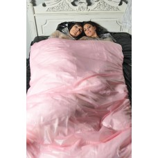 "KLEMARO PVC Plastik - Bettbezug ""Kingsize"" groß 216x208cm BE06"