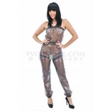 KLEMARO PVC Plastik - Brusthose Leggings Damen PA61 STEPH BOWMAN LEGGINGS