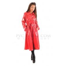 KLEMARO PVC Plastik - Mantel Regenmantel 1960er-Style Kragen RA84 FASCINATION COAT
